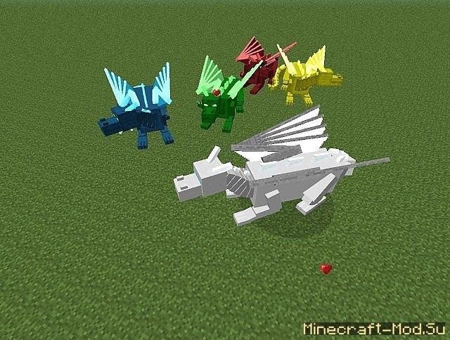 моды на майнкрафт на драконов скачать - фото 11
