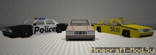 Скачать Spino S Vehicles Mod Мод машин для Minecraft 1 7 10