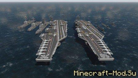 Скачать Карту Подводная Лодка для Minecraft