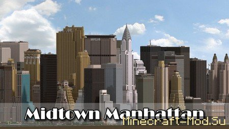 Midtown Manhattan Map