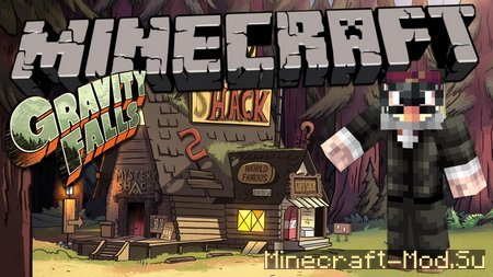 Gravity Falls: The Mystery Shack Map