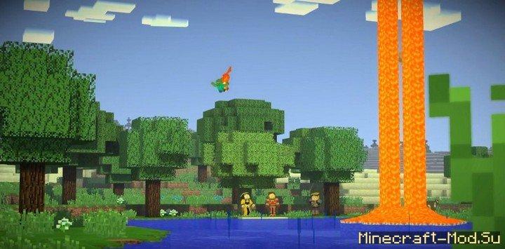 скачать minecraft story mod 1-8 эпизод на андроид #4