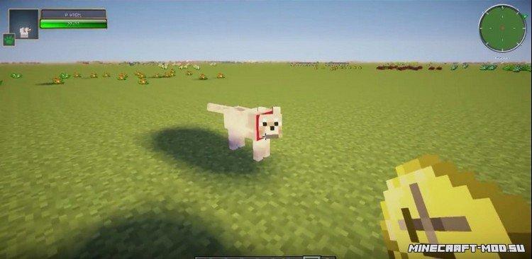 Скачать мод на собаку для майнкрафт 1.7.10