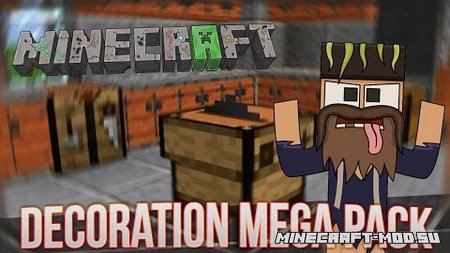 Decoration Mega Pack Mod 1.9