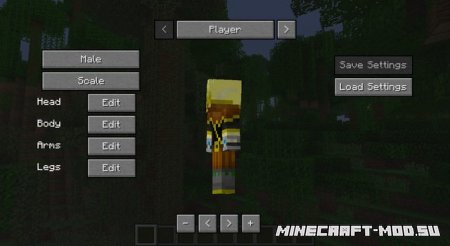 More Player Models Mod 1.9.4