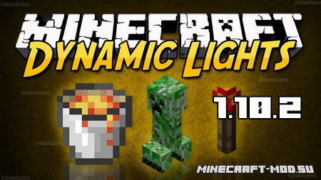 Dynamic Lights Mod 1.10.2