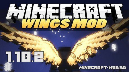 Cosmetic Wings Mod 1.10.2