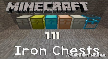 Iron Chests Mod 1.11
