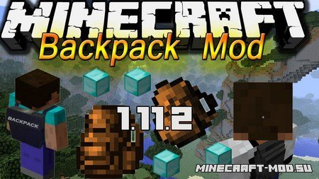 Backpacks Mod 1.11.2